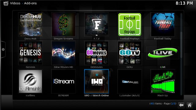 xbmc SunnyTV Technology