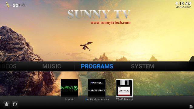 xbm customize SunnyTV Technology