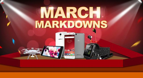 "We have the honor announce that Gearbest runs a BIG PROMOTION ""MARCH MARKDOWNS"" for all the customers from March 16th - 30th. Gearbest.com."