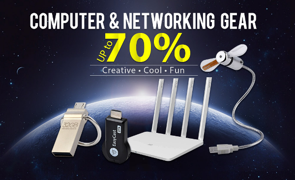computer and networking gear up to 70